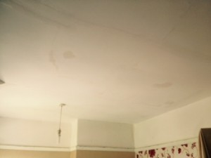 completed ceiling